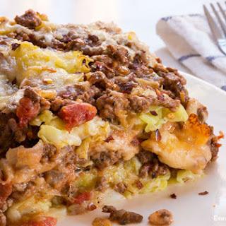 Low-Carb Cabbage Lasagna.