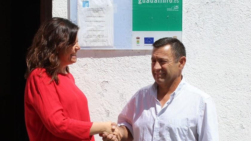 Sonia Requena y Antonio Sánchez colaboran juntos ahora.