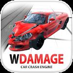 WDAMAGE: Car Crash Engine Icon