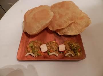 Puri Roti ( Asian South Indian Bread)