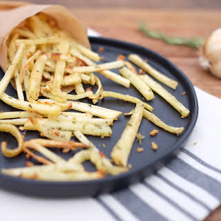 Garlic Rosemary Parsnip Fries.