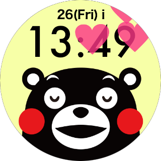 Face Watch (KUMAMON Ver.) 1.0 Windows u7528 4