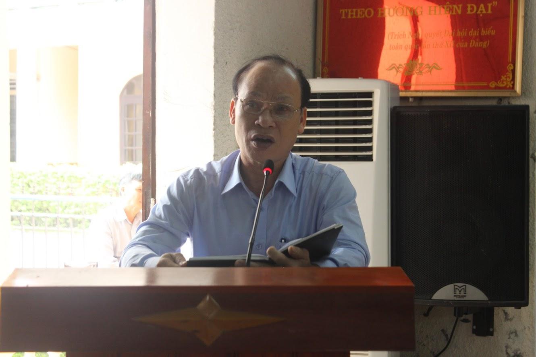 Ông Hoàng Văn Phi, Bí thư Huyện ủy nhấn mạnh các nhiệm vụ QP-AN trọng tâm năm 2020