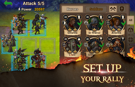 Chaos Lords Tactical RPG-mobile legendary PvE game 6