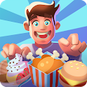 Idle Food Empire Tycoon - Open Your Restaurant icon
