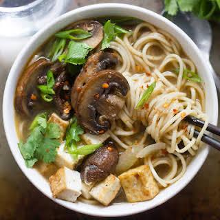 Spicy Mushroom Ramen.