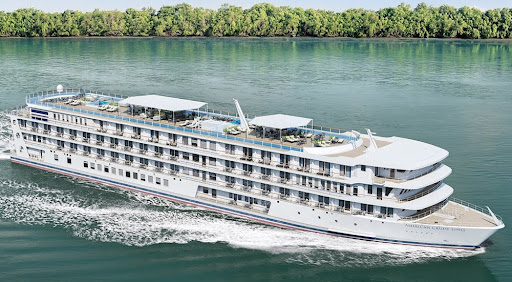 american-melody2.jpg - The 175-passenger American Melody began Mississippi River sailings in September 2021.
