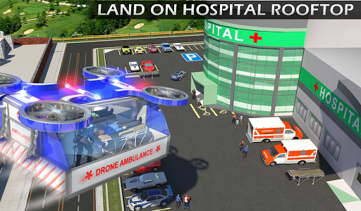 Heli Ambulance Rescue Team 3D Helicopter Simulator  screenshots 15