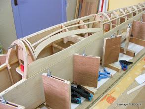 Photo: Capot aile sur fuselage