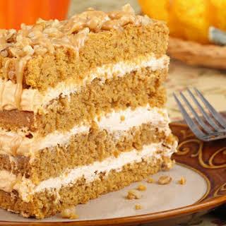 Pumpkin Almond Coffee Cake.
