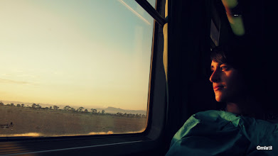 Photo: na cestě z Casablancy do Marrakeshe