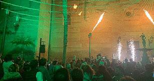 La Plaza Mayor  acogió un gran espectáculo piromusical.