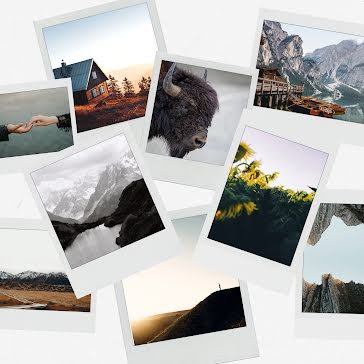 Outdoors Polaroid Collection - Instagram Template
