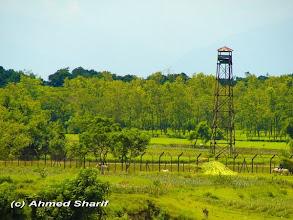 Photo: India, across the Mahananda river in Tetulia