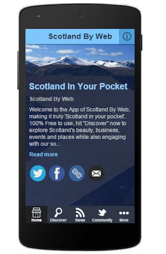 SCOTLAND BY WEB