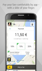 mytaxi – The Taxi App screenshot 1