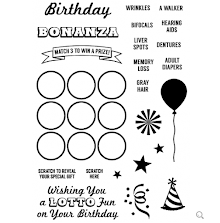 Inky Antics Clear Stamp Set - Birthday Bonanza UTGÅENDE