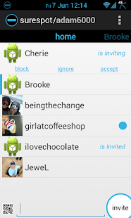 surespot encrypted messenger Screenshot