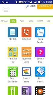 Aplikasi Pembuat Aplikasi Android - náhled