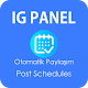Schedules IG Oto Panel FREE - Instagram Auto post (app)