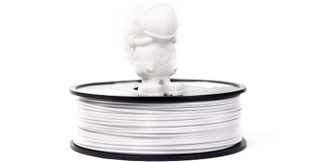 GROWLAY White Bio-degradable Porous 3D Printing Filament 1.75 mm White