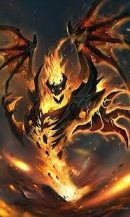 Evil diablo live wallpaper (fantasy, hell, fire) - náhled