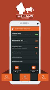 Caller Speaker - SMS & Call Announcer - náhled