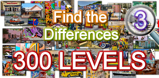 Find the differences 300 levels for PC