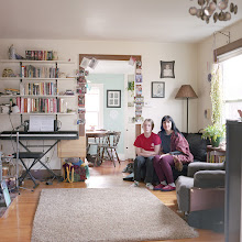 Photo: title: Aleda Jonquil + Scarlett Amlee, Greenfield, Massachusetts date: 2016 relationship: friends, art, met at Hampshire College years known: 25-30