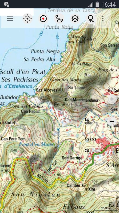 Tenerife Topo Maps Izinhlelo zeAndroid kuGoogle Play