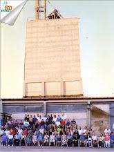 Photo: תמונה קבוצתית לני הריסת הסילו לטובת בנית שכון בנים ב 1998