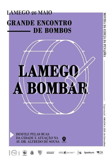 "Grande encontro de bombos põe ""Lamego a Bombar"""