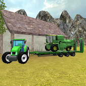 Tractor Simulator 3D: Harvester Transport