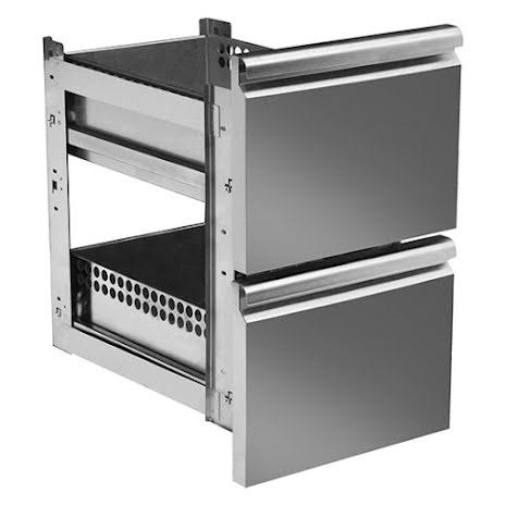 Set draglådor 2 x 1/1-150 mm 35 kg/drawer