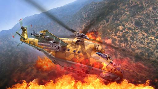 Gunship Shooting Strike Battle screenshots 3