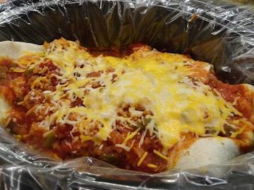 Cheesy-green-chili-chicken Crock Pot Enchiladas Recipe