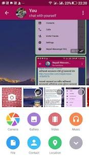 Nepali Messenger - náhled