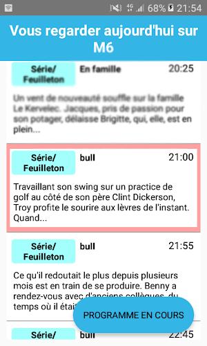 Tnt France Android App Screenshot