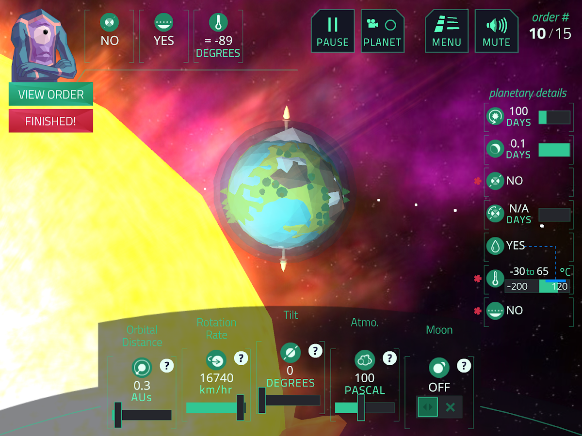 Planet Mechanic- screenshot