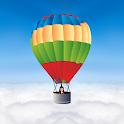 Escape on Hot Air Balloon icon