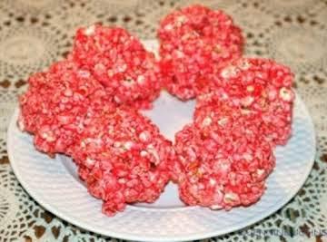 Jello-Popcorn Balls