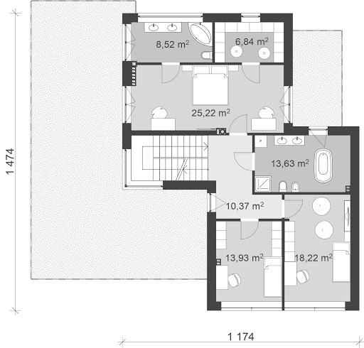 UA10 - Rzut piętra