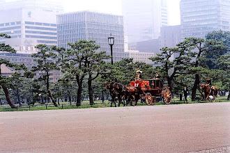 Photo: Tokio - plac przed Pałacem Cesarskim / Tokyo - Imperial Palace Plaza