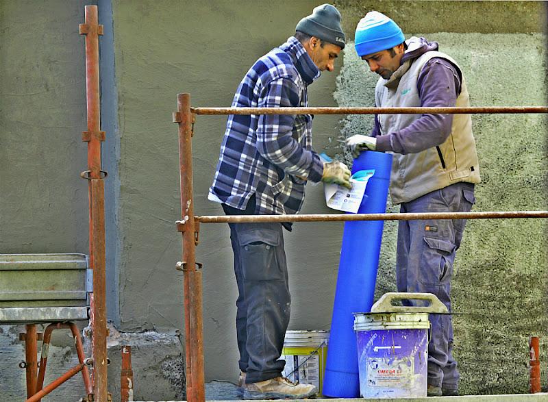 Operatori edili di acquario