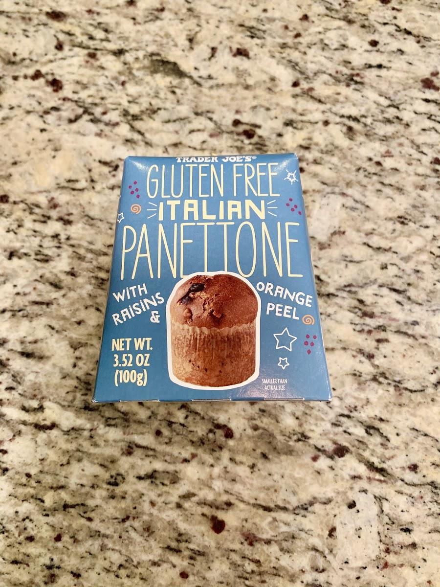 Gluten Free Italian Panettone