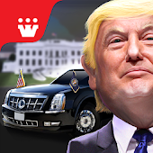 President Donald Trump: Driving Games Simulation
