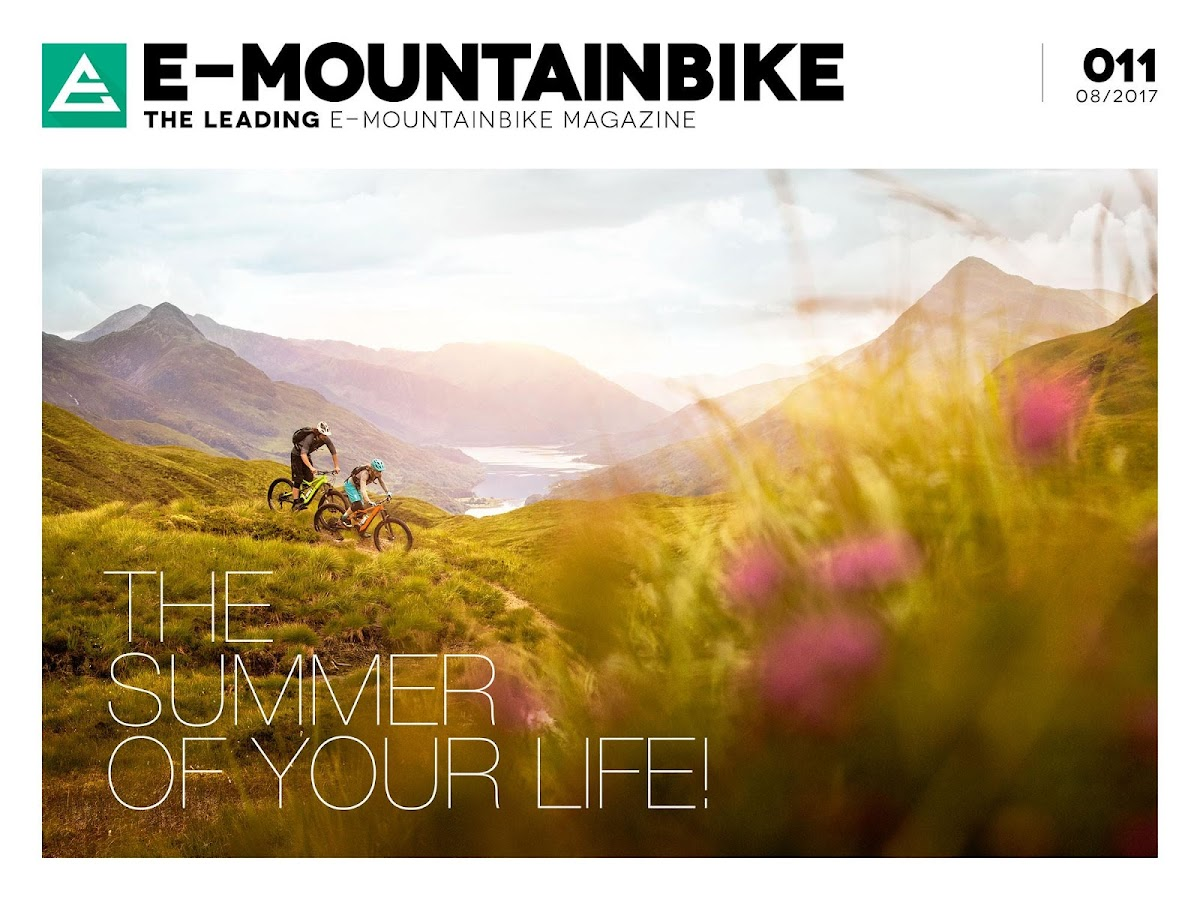 E-MOUNTAINBIKE Magazine- screenshot