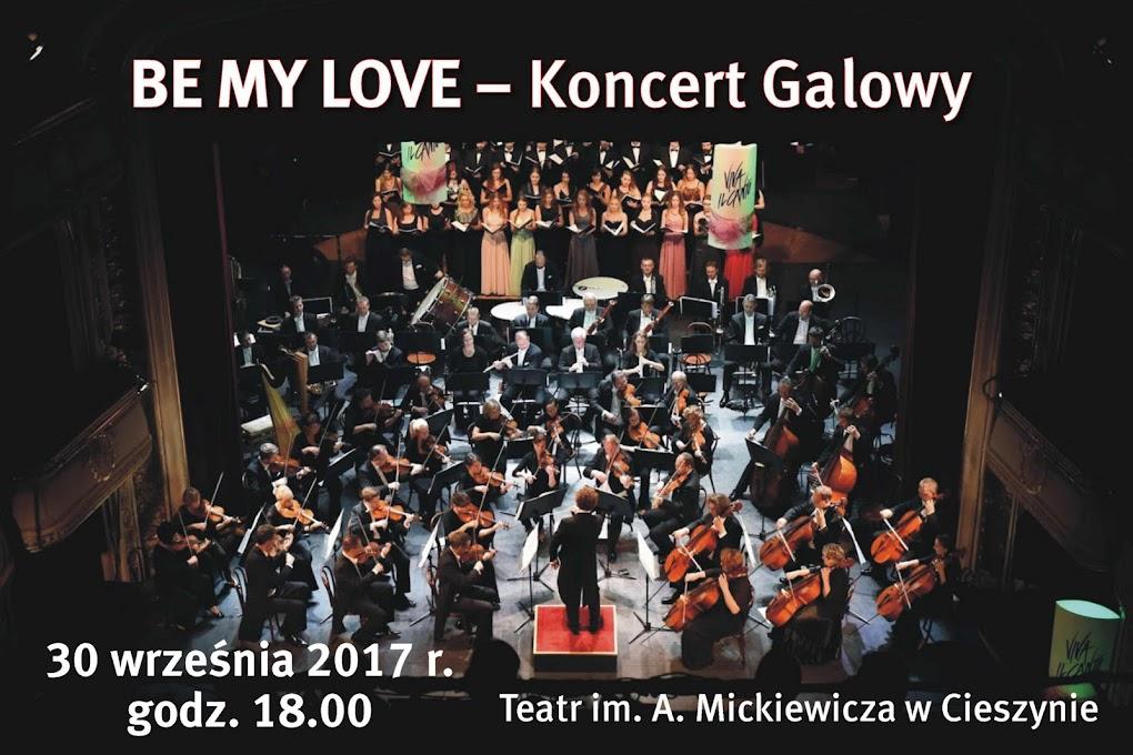 BE MY LOVE - Koncert Galowy