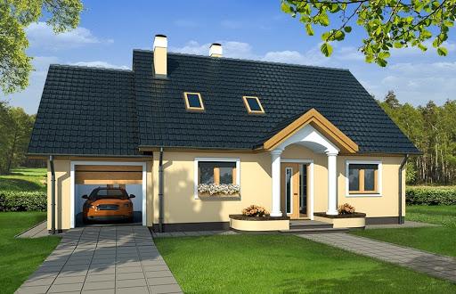 projekt domu Siena wersja A