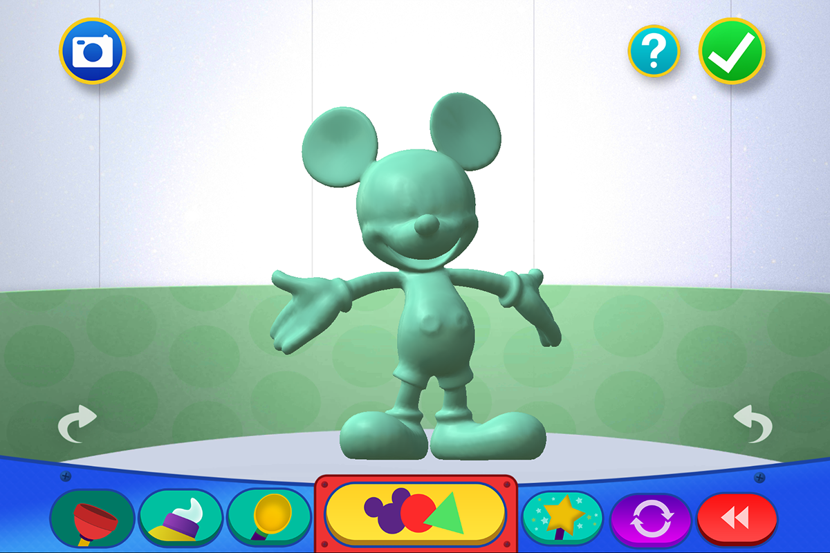 Squish: Mickey Mouse Clubhouse- screenshot